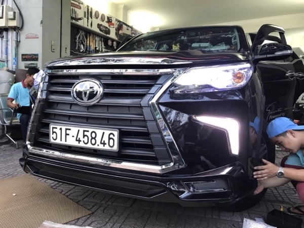 Body Kit Xe Toyota Fortuner 2018