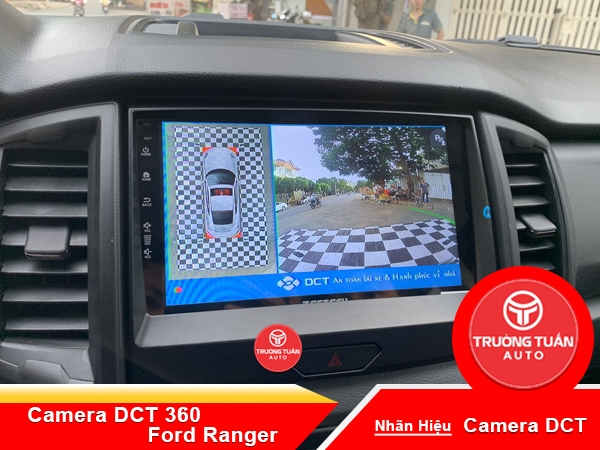 Camera DCT 360 cao cấp theo xe Ford Ranger